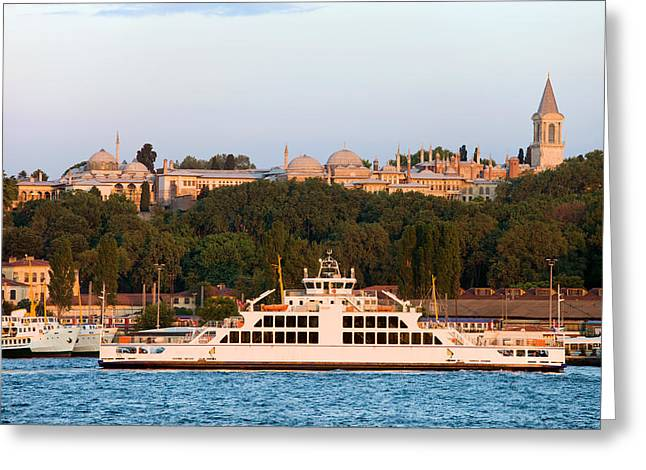 Stanbul Greeting Cards - Topkapi Palace in Istanbul Greeting Card by Artur Bogacki