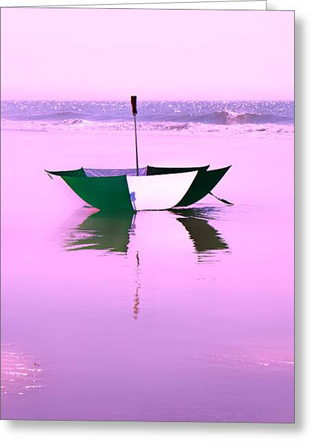 Drifter Photographs Greeting Cards - Topsail Drifting Greeting Card by Betsy A  Cutler