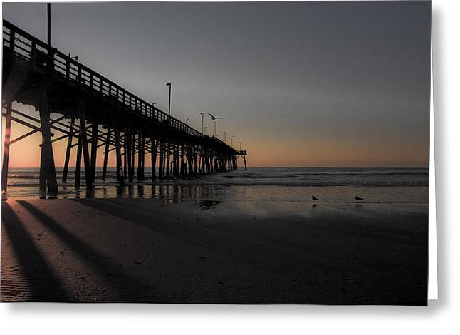 Topsail Island Greeting Cards - Topsail Island Greeting Card by Betsy A  Cutler