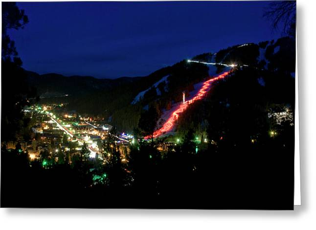 Torchlight Greeting Cards - Torchlight Parade Greeting Card by Ron Weathers