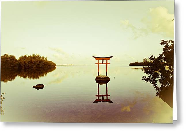 Torii Greeting Cards - Torii Gate Greeting Card by Scott Meyer