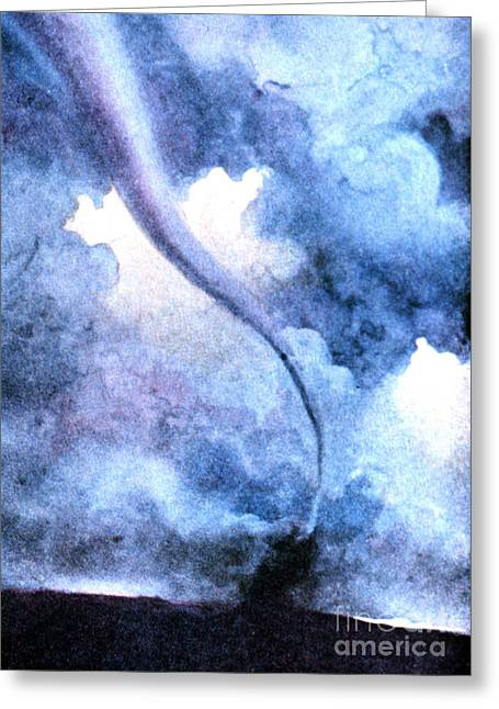 Rotate Greeting Cards - Tornado 1931 Greeting Card by Science Source