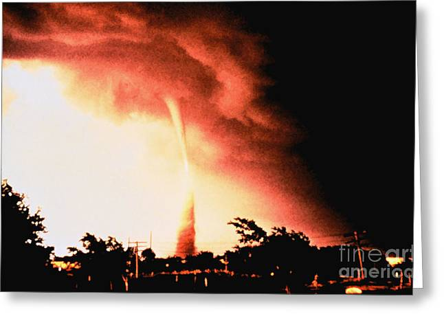Enid Greeting Cards - Tornado Sequence, 2 Of 4 Greeting Card by Science Source