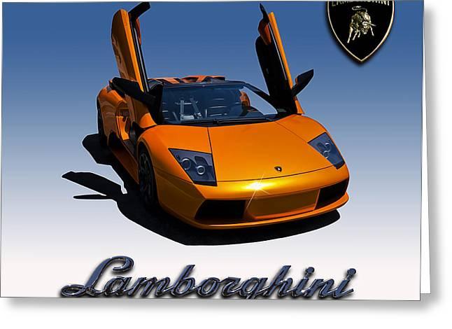 Orange Car Greeting Cards - Toro Greeting Card by Douglas Pittman
