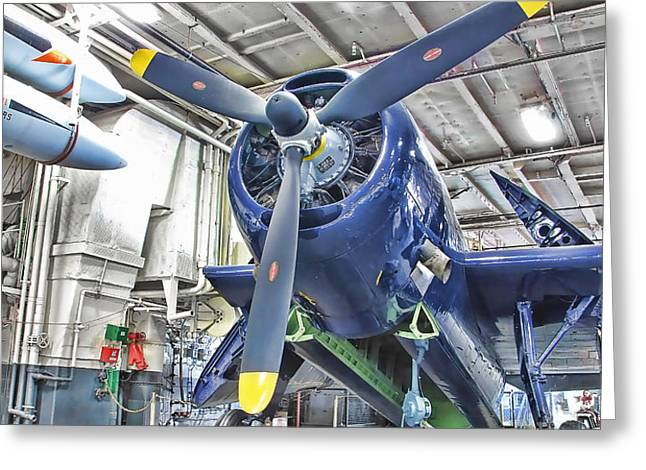 Torpedo Bomber Greeting Card by Jason Abando