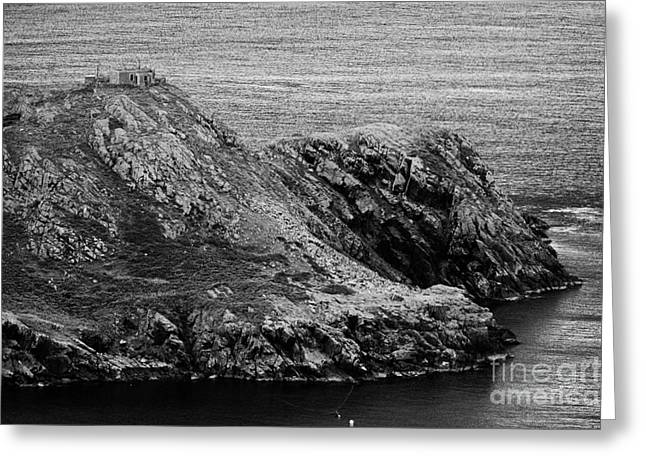 Coastal Route Greeting Cards - Torr Head County Antrim Greeting Card by Joe Fox