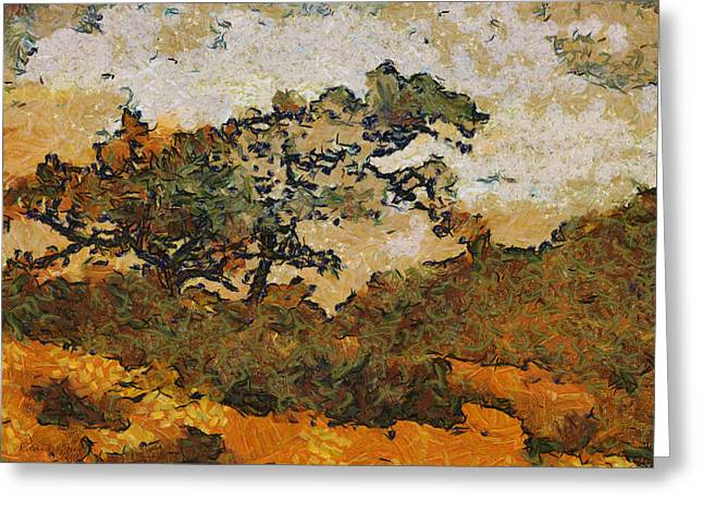 Clouds Photographs Digital Art Greeting Cards - Torrey Pines Greeting Card by Russ Harris