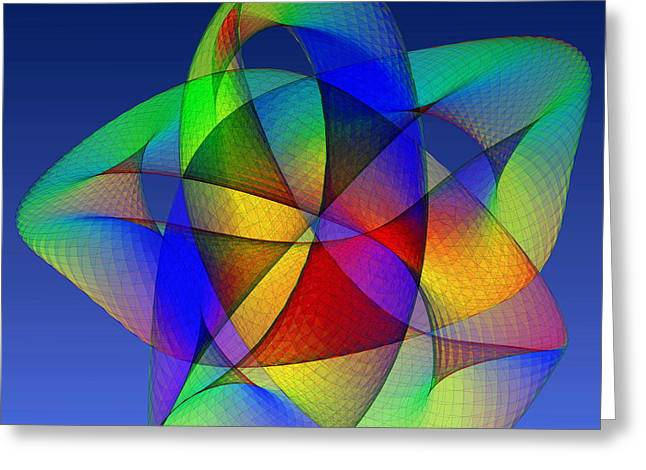 2d Greeting Cards - Torus Greeting Card by Eric Heller