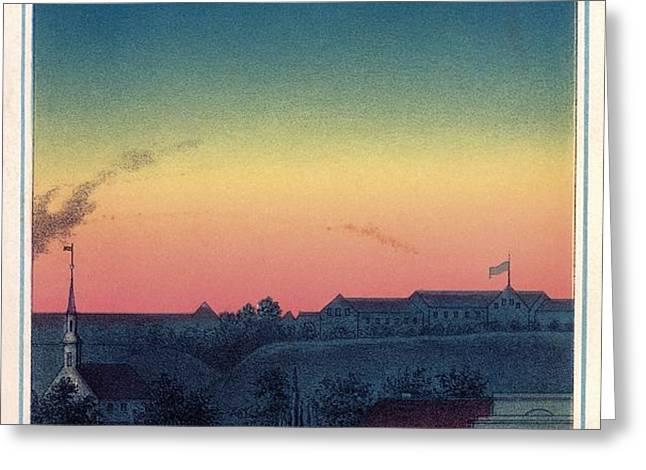 Total Solar Eclipse, 1851 Artwork Greeting Card by Detlev Van Ravenswaay