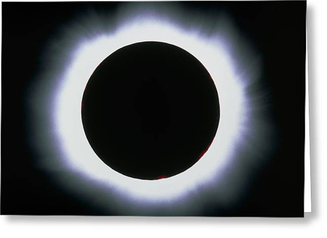Total Solar Eclipse, 1999 Greeting Card by Dr Fred Espenak