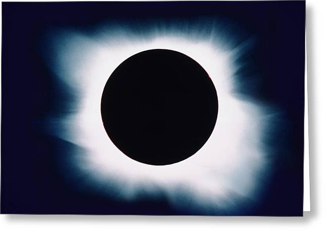 Solar Eclipse Greeting Cards - Total Solar Eclipse Greeting Card by John Sanford