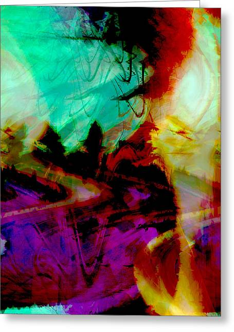 Touch Of The Sun Greeting Card by Linda Sannuti