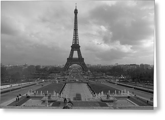Blake Yeager Greeting Cards - Tour Eiffel Greeting Card by Blake Yeager