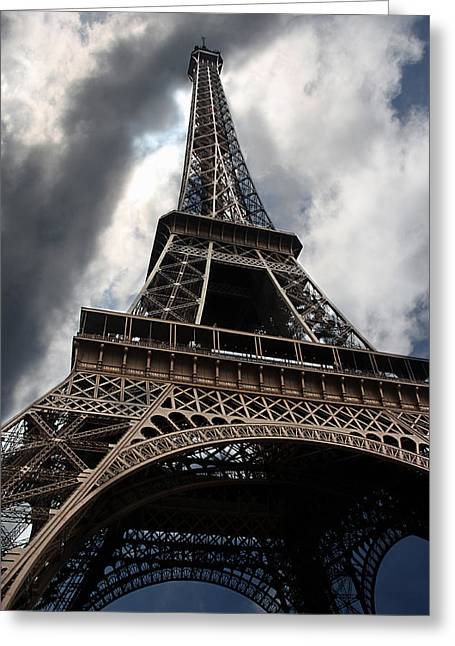 Steal Greeting Cards Greeting Cards - Tour Eiffel Greeting Card by Claudia Moeckel