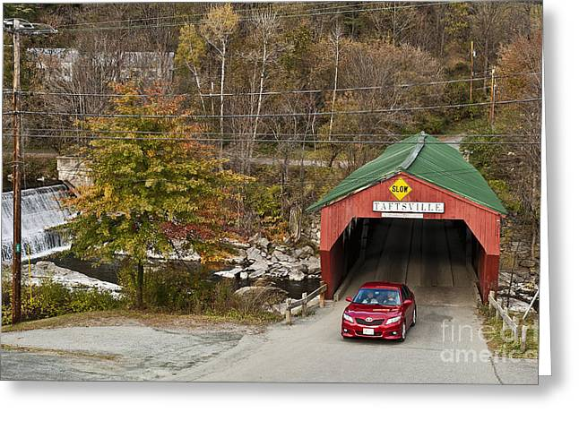 Scenic Drive Greeting Cards - Touring America Greeting Card by John Greim
