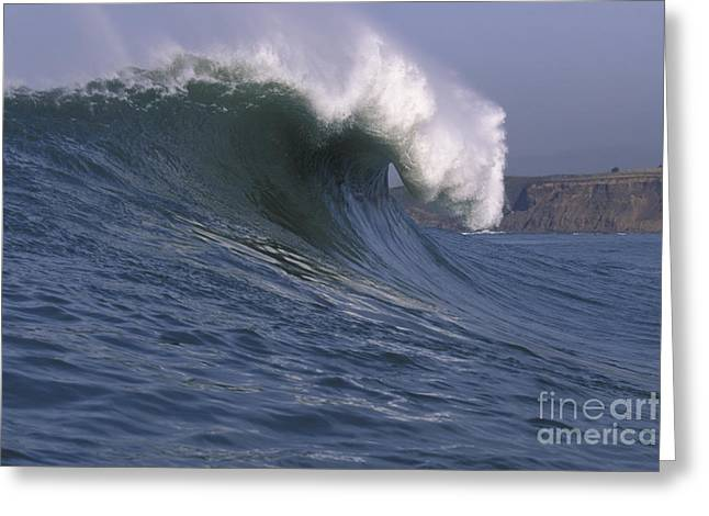 Maverick Greeting Cards - Toward the Cliffs Greeting Card by Stan and Anne Foster