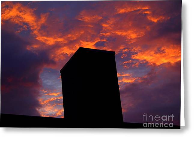 Towering Inferno  Greeting Card by Tammy Cantrell