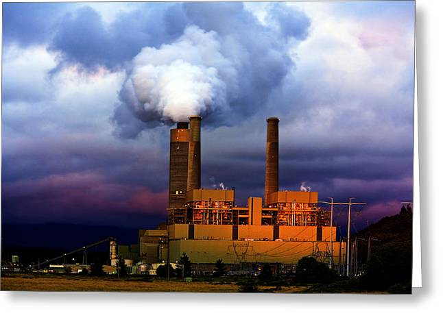 Energy Conversion Greeting Cards - Toxic Beauty Greeting Card by Wendy White