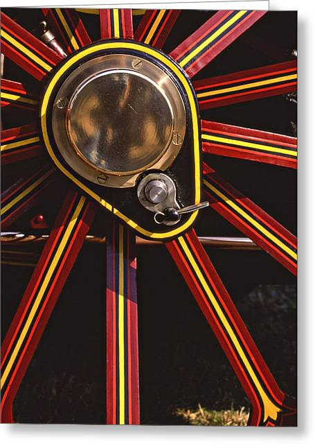 Radiates Greeting Cards - Traction Greeting Card by Meirion Matthias
