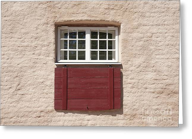 Traditional Building Facade Greeting Card by Jaak Nilson