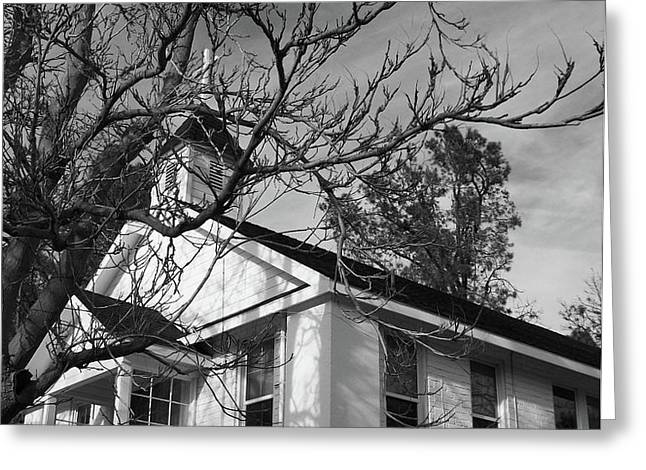Traditional Country Church Greeting Card by Glenn McCarthy Art and Photography