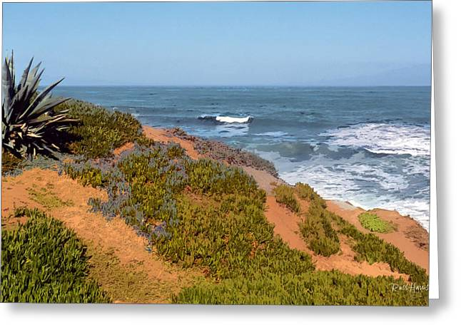 La Jolla Art Greeting Cards - Trails End La Jolla Greeting Card by Russ Harris