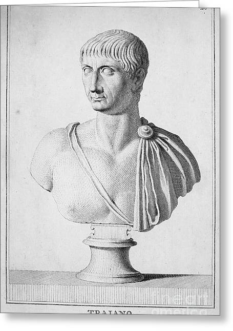 2nd Greeting Cards - TRAJAN (c52-117) Greeting Card by Granger