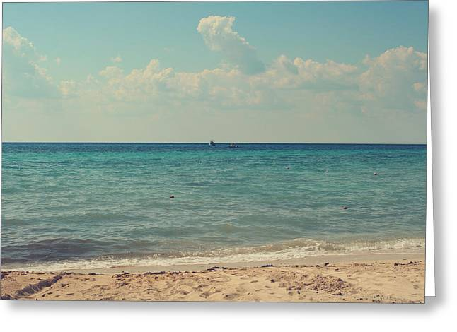 Cozumel Greeting Cards - Tranquil Greeting Card by Laurie Search