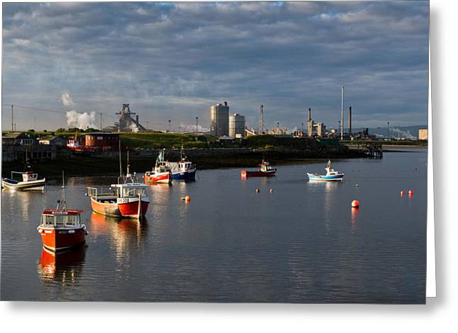 Port Holes Greeting Cards - Tranquil morning at Paddys Hole Greeting Card by Gary Eason