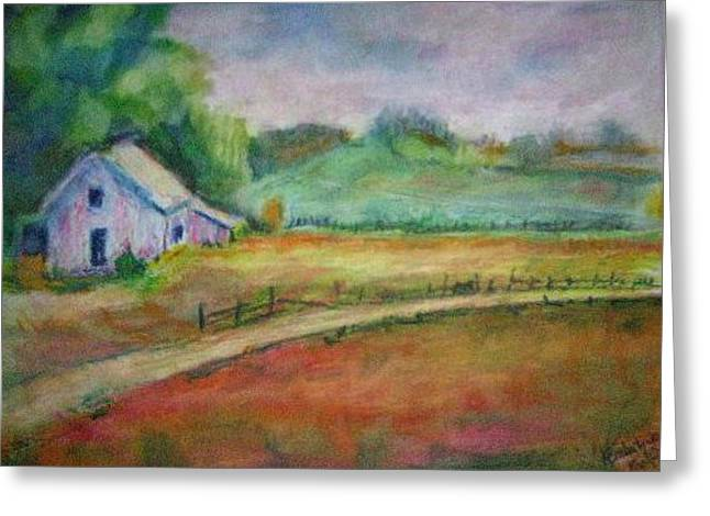 Tranquil Pastels Greeting Cards - Tranquil Solitude Greeting Card by Kemberly Duckett