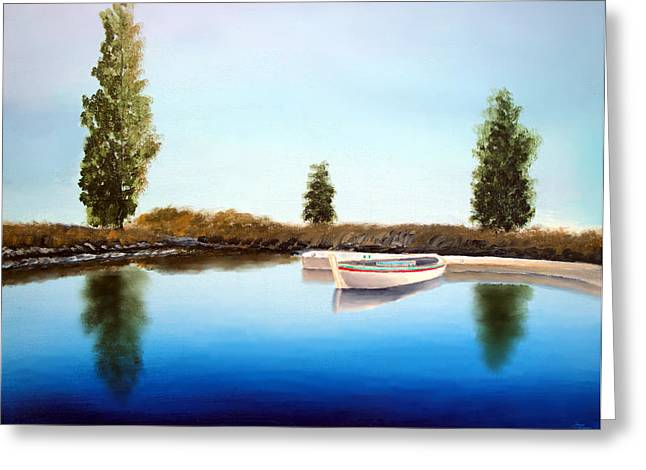 Larry Cirigliano Greeting Cards - Tranquil Waters Greeting Card by Larry Cirigliano