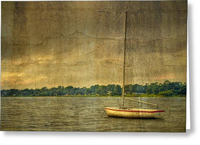 Breezy Photographs Greeting Cards - Tranquility Greeting Card by Debra and Dave Vanderlaan