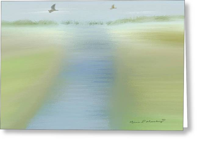 Gina Lee Manley Greeting Cards - Tranquility Greeting Card by Gina Lee Manley