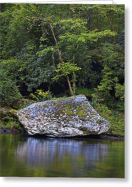 Gatlinburg Tennessee Greeting Cards - Tranquility Greeting Card by Ray Kent