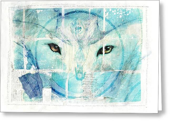 Janelle Schneider Greeting Cards - Transcend Greeting Card by Janelle Schneider