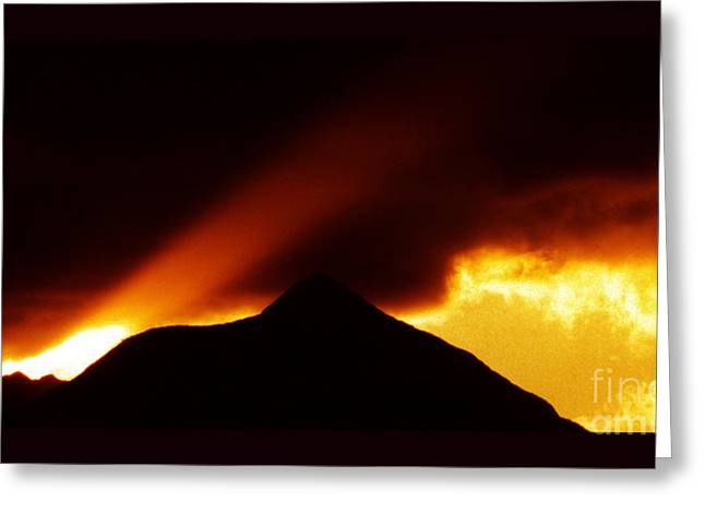 Shamanic Moments Greeting Cards - Transcending the Mind Greeting Card by Susanne Still