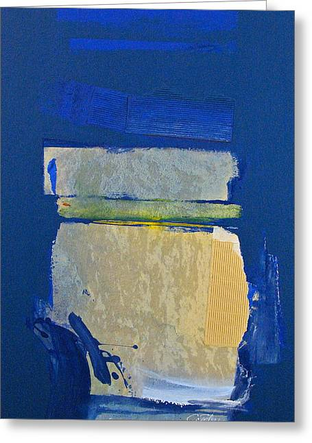 Cardboard Mixed Media Greeting Cards - Transition 5 slabs Greeting Card by Cliff Spohn