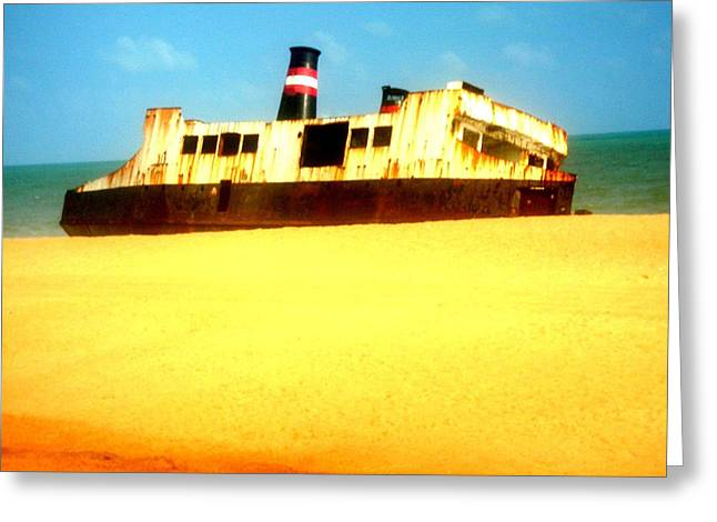 Steal Prints Greeting Cards - Transportation to Servitude Greeting Card by Fania Simon