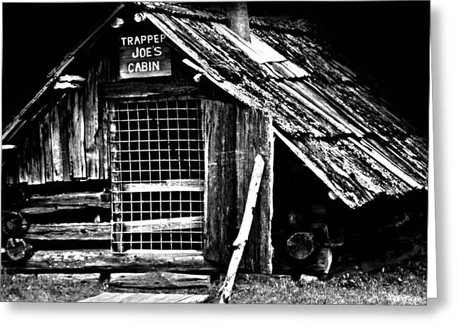 Trapper Greeting Cards - Trapper Joe Greeting Card by Jerry Cordeiro