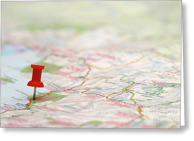 Geographic Location Greeting Cards - Travel Destination Greeting Card by Matthew Benoit