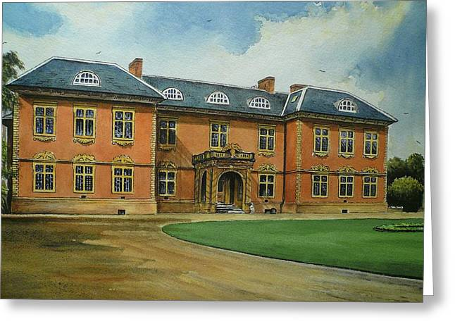 Edwardian Greeting Cards - Tredegar House Greeting Card by Andrew Read
