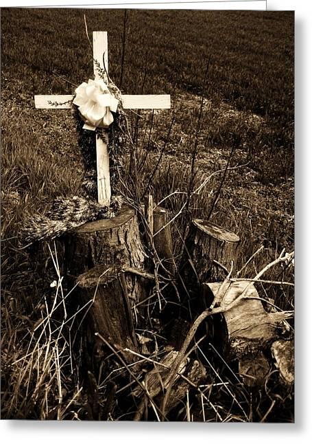 Eternal Life Greeting Cards - Tree de Soul Greeting Card by Toni Jackson