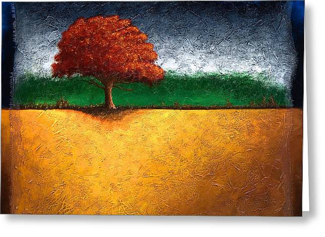 Mauro Greeting Cards - Tree of Life Greeting Card by Mauro Celotti