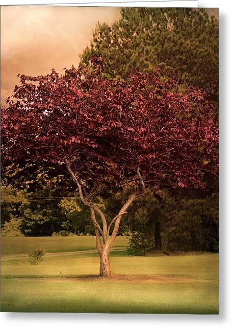 Tree Of Love Greeting Card by Jai Johnson