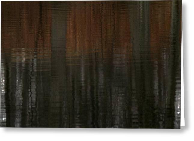 Reflecting Water Greeting Cards - Trees of April Greeting Card by Karol  Livote