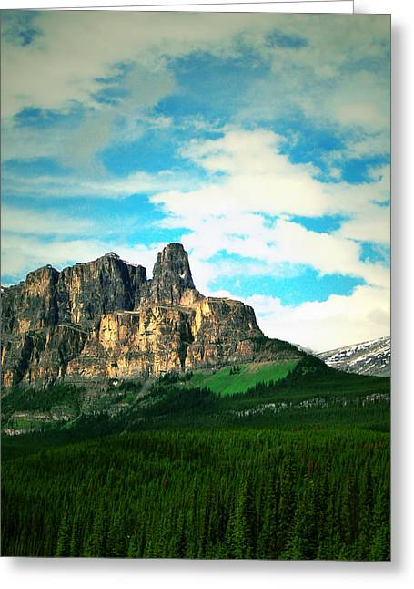 Landscape Framed Prints Greeting Cards - Trekking  Greeting Card by Jerry Cordeiro