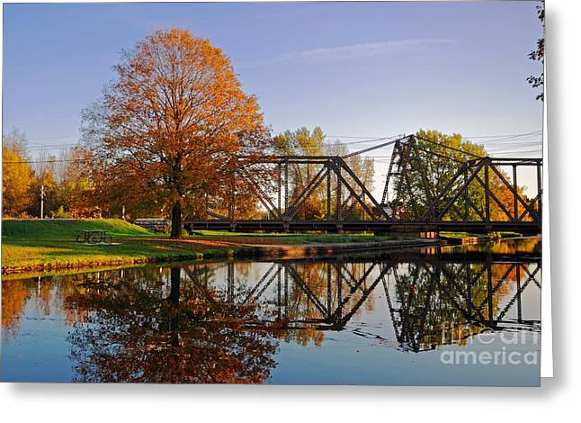 Historic Site Greeting Cards - Trent-Severn Waterway National Historic Site Greeting Card by Charline Xia