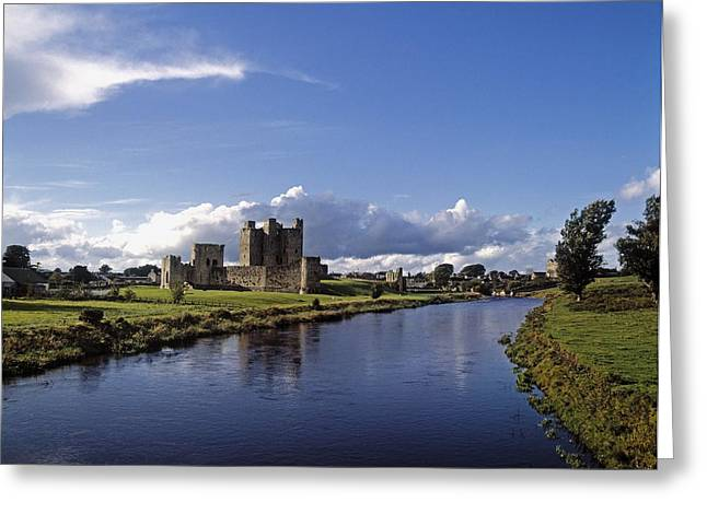 Middle Ages Greeting Cards - Trim Castle On The River Boyne, County Greeting Card by The Irish Image Collection