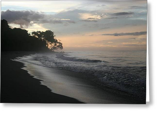 Trinidad Beach Sunset Greeting Cards - Trinidad Sunset Greeting Card by Jennie ML Ossentjuk