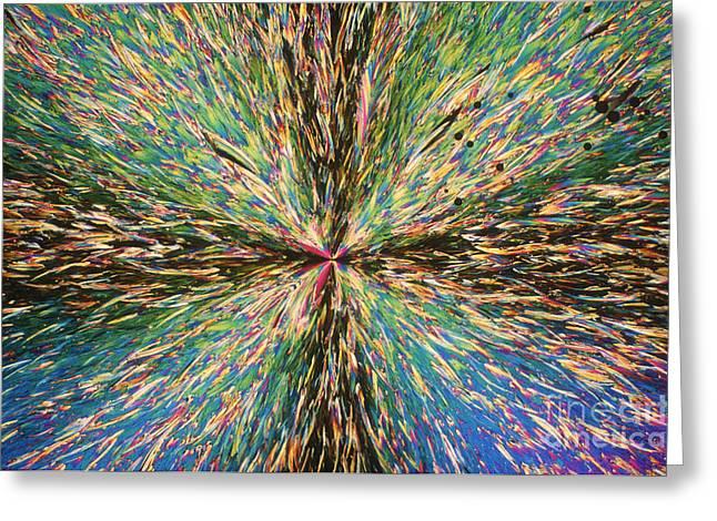 Transmit Greeting Cards - Trinitrotoluene Greeting Card by Michael W. Davidson